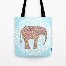Elephant Circle #2 Tote Bag
