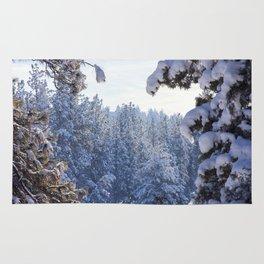 Winter Wonderland - Awbrey Meadow in Central Oregon Rug