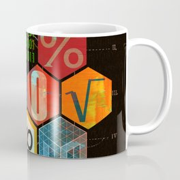 Math Game in black Coffee Mug