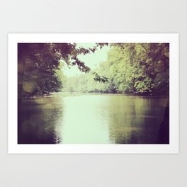 The Great Miami River Art Print