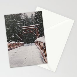 Nisqually River Suspension Bridge Stationery Cards