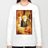 england Long Sleeve T-shirts featuring England Vintage  by Ganech joe