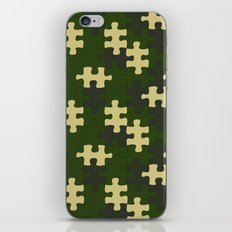 chameleon puzzle iPhone & iPod Skin