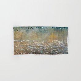 Landscape Dots - Turquoise Hand & Bath Towel