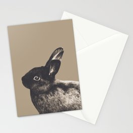 Little Rabbit on Sepia #1 #decor #art #society6 Stationery Cards