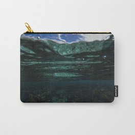 Dark Caribbean Layers Carry-All Pouch