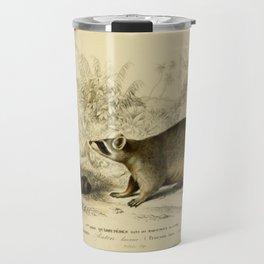 Naturalist Raccoons Travel Mug