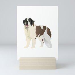 Saint Bernard Dog Mini Art Print