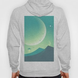 Ufo in the planet Hoody
