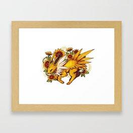 Eeveelution Prints - Jolteon Framed Art Print