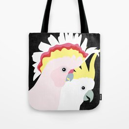 Cockatoos by Mount Vic and Me Tote Bag