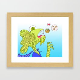 #144: Creative Burps Framed Art Print