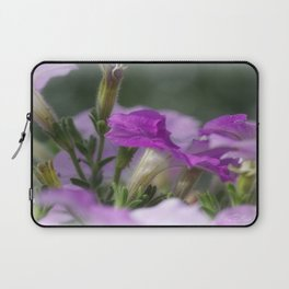 Blossoms in purple Laptop Sleeve