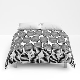 Abstract Hand Drawn Patterns No.6 Comforters