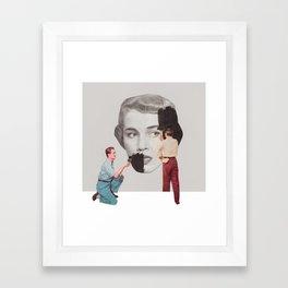 Just Roll Over Framed Art Print