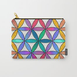 Flower of Life variation 3 Carry-All Pouch