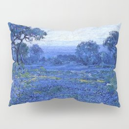 Bluebonnet pastoral scene landscape painting by Robert Julian Onderdonk Pillow Sham