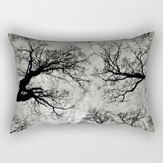 Meditative Power of Trees Rectangular Pillow