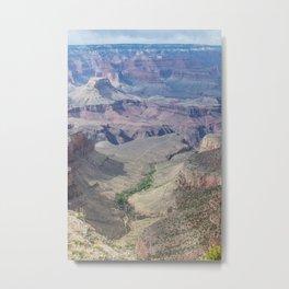 Grand Canyon path Metal Print