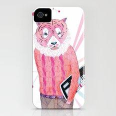 Pink Tiger iPhone (4, 4s) Slim Case