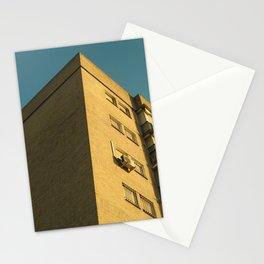 Corner building Stationery Cards