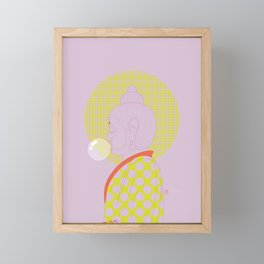Buddha : Concentrate on the Void! (PopArtVersion) Framed Mini Art Print