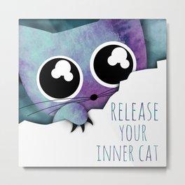 inner cat /Agat/ Metal Print