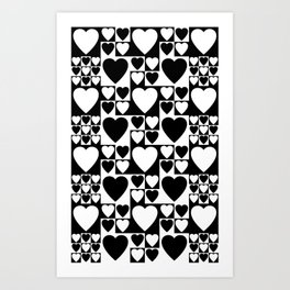 SIXTIES LOVE Art Print