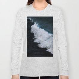 Powerful breaking wave in the Atlantic Ocean - Landscape Photography Long Sleeve T-shirt