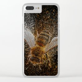 Bees Are Magic Clear iPhone Case