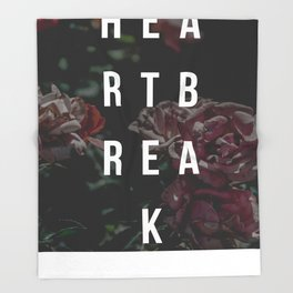 """The Heartbreak Sessions"" Throw Blanket"