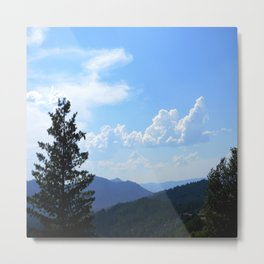 Ahhh the beautiful clouds.... Metal Print