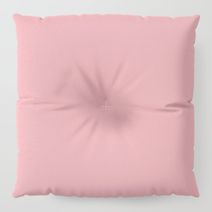 Tropical Coral Pink Floor Pillow by followmeinstead | Society6