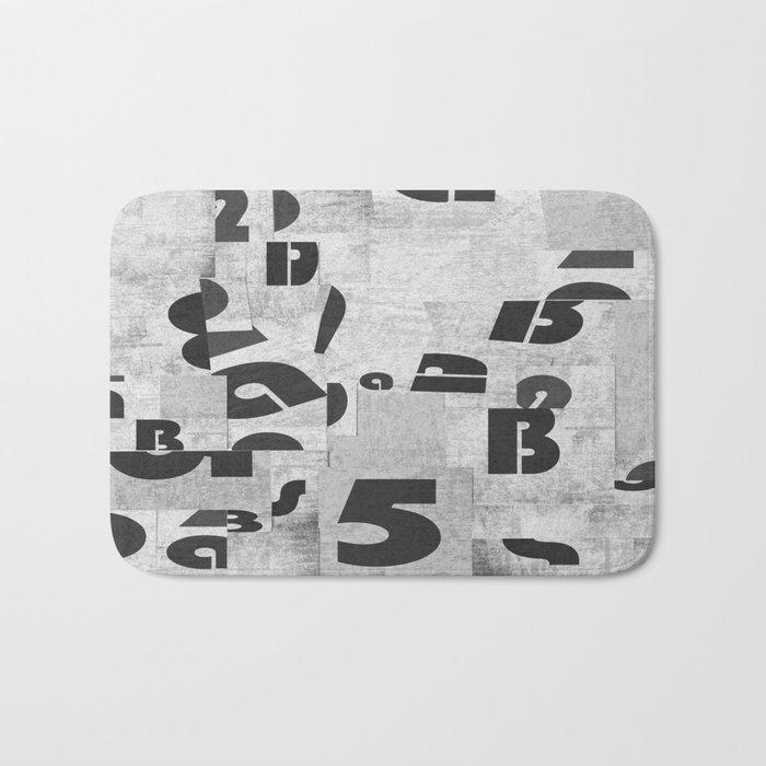 Abstract pattern 51 Bath Mat