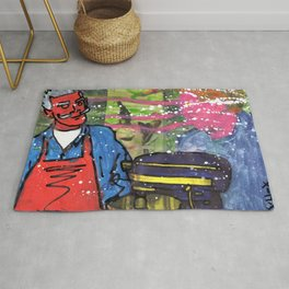 Demon Jaques and the Julia Specter Rug