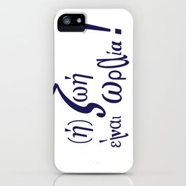 life is beautifull iPhone Case