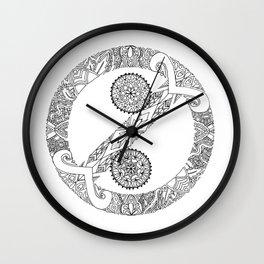 """""""No Colon"""" Symbol Wall Clock"""