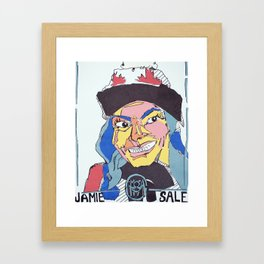 Jaimie Sale Paper & Glue Framed Art Print