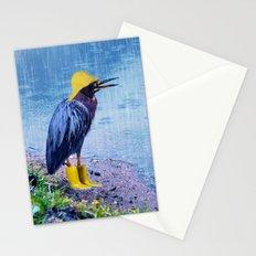 Damn Rain !!! Stationery Cards