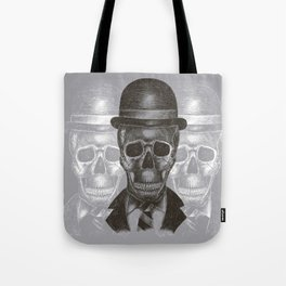 Worked To Death (Grey version) Tote Bag
