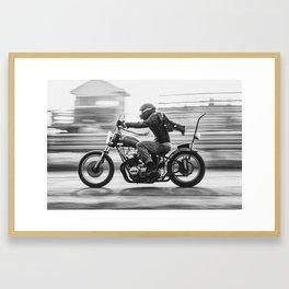 Full Speed Chopper Framed Art Print