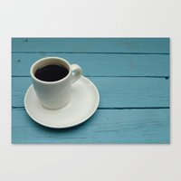 coffe Canvas Prints featuring Coffe by Camaracraft
