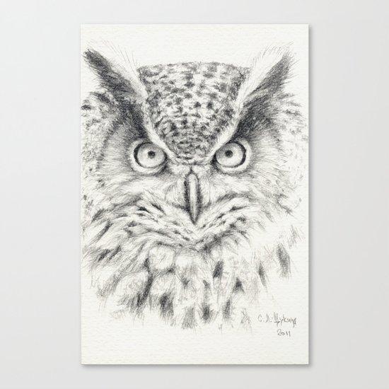 Owl G2011-012 Canvas Print