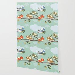 Singing Birds Wallpaper