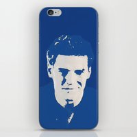 buffy the vampire slayer iPhone & iPod Skins featuring Angelus - Buffy the Vampire Slayer by Laura