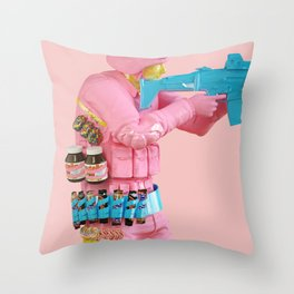 Deliciously Supplied Throw Pillow