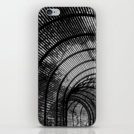 Lines Silhouette iPhone Skin