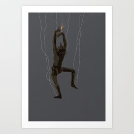 Free the Puppets Art Print