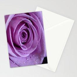 Purple Rose-3 Stationery Cards