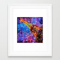 eiffel Framed Art Prints featuring Eiffel by haroulita